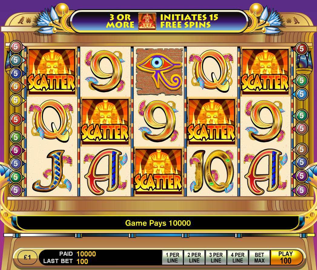 slot machine on line