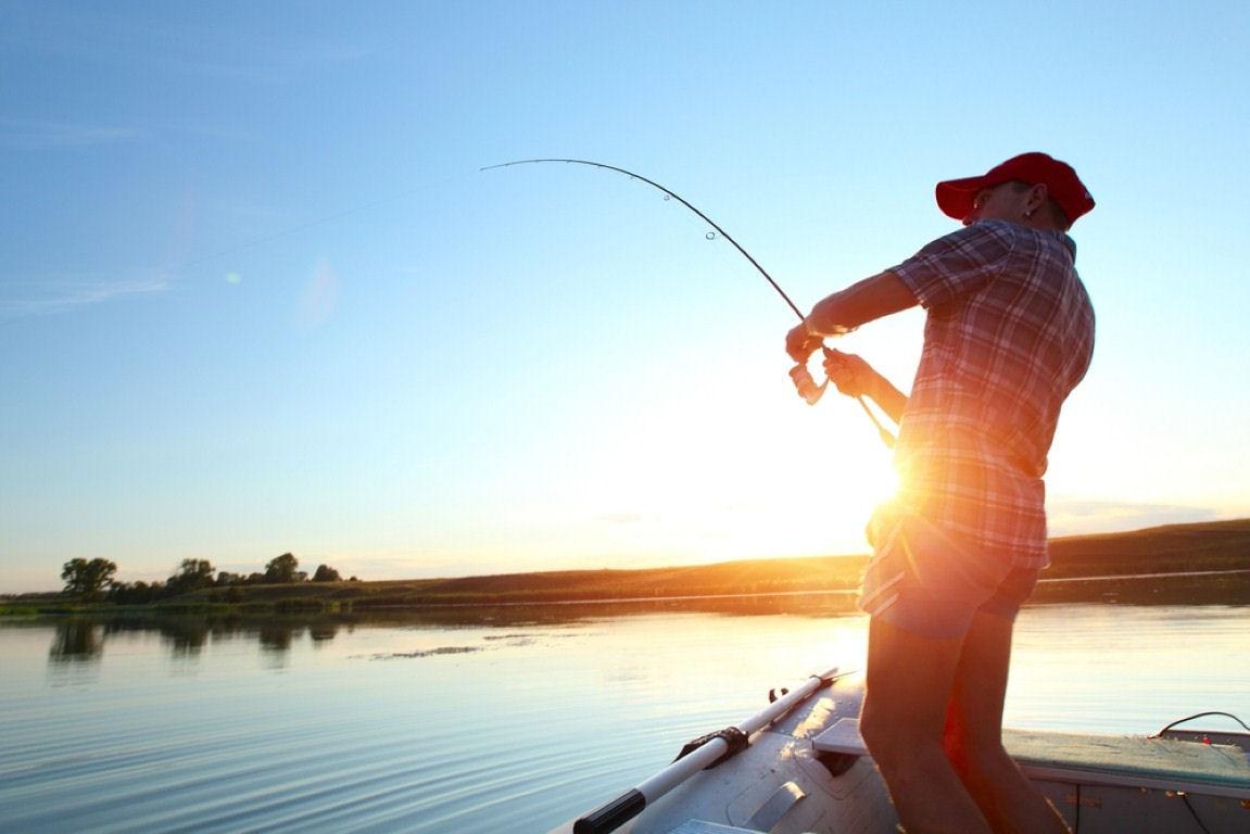 6 pesca sport stress