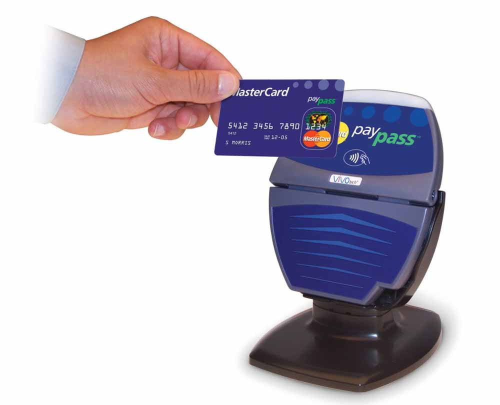 carte di credito contactless mobile