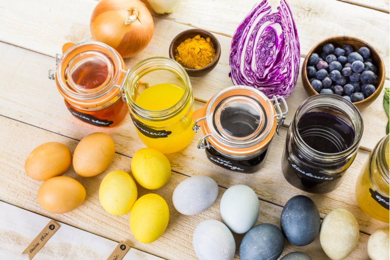 Come Colorare Il Uovo Di Pasqua A Casa Con Coloranti Naturali E Con